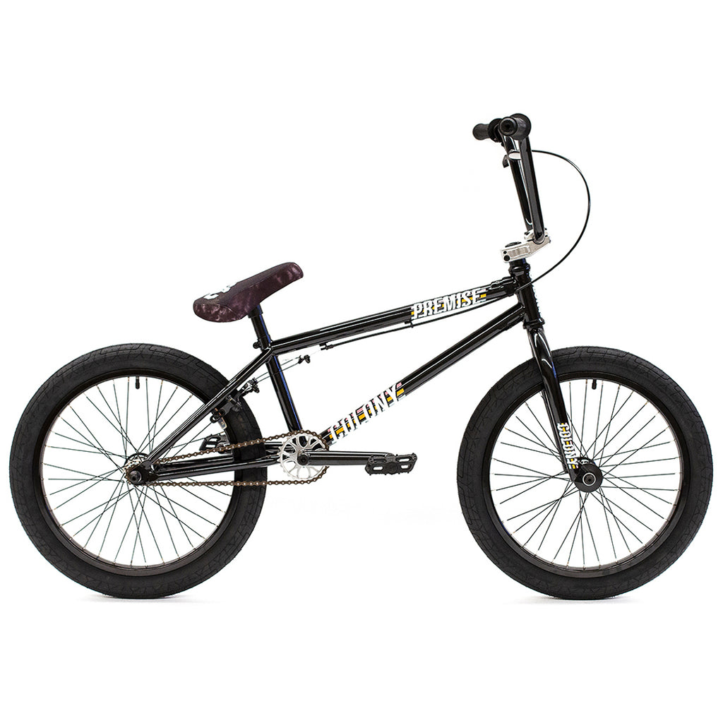 "2021 Colony Premise 20"" Complete BMX (Gloss Black and Polished)"