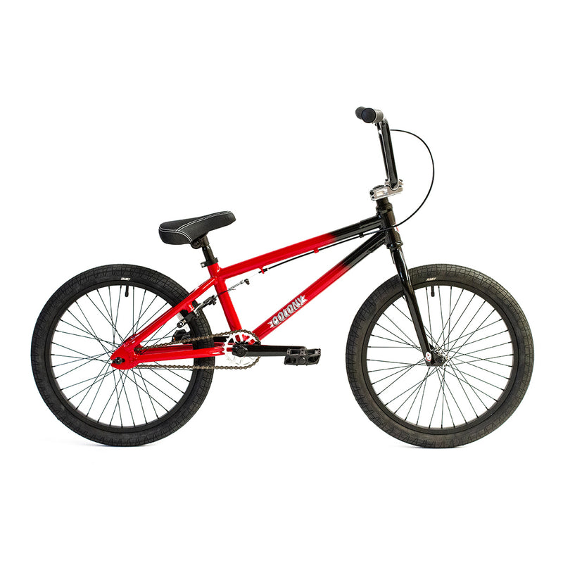 "Colony Horizon 20"" Complete BMX (Black and Red Fade)"