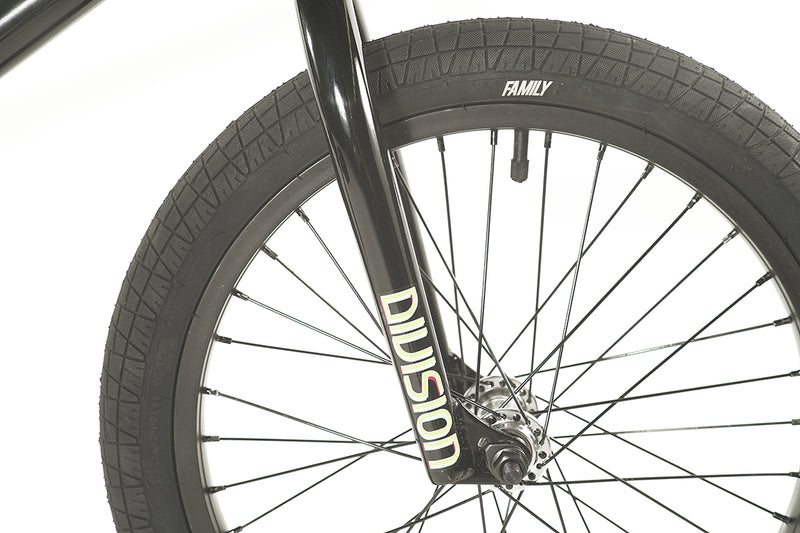 "Division Blitzer 18"" Complete BMX (Gloss Black and Polished)"