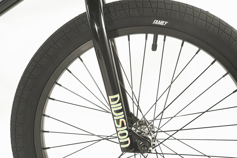 "Division Blitzer 20"" Complete BMX (Gloss Black and Polished)"