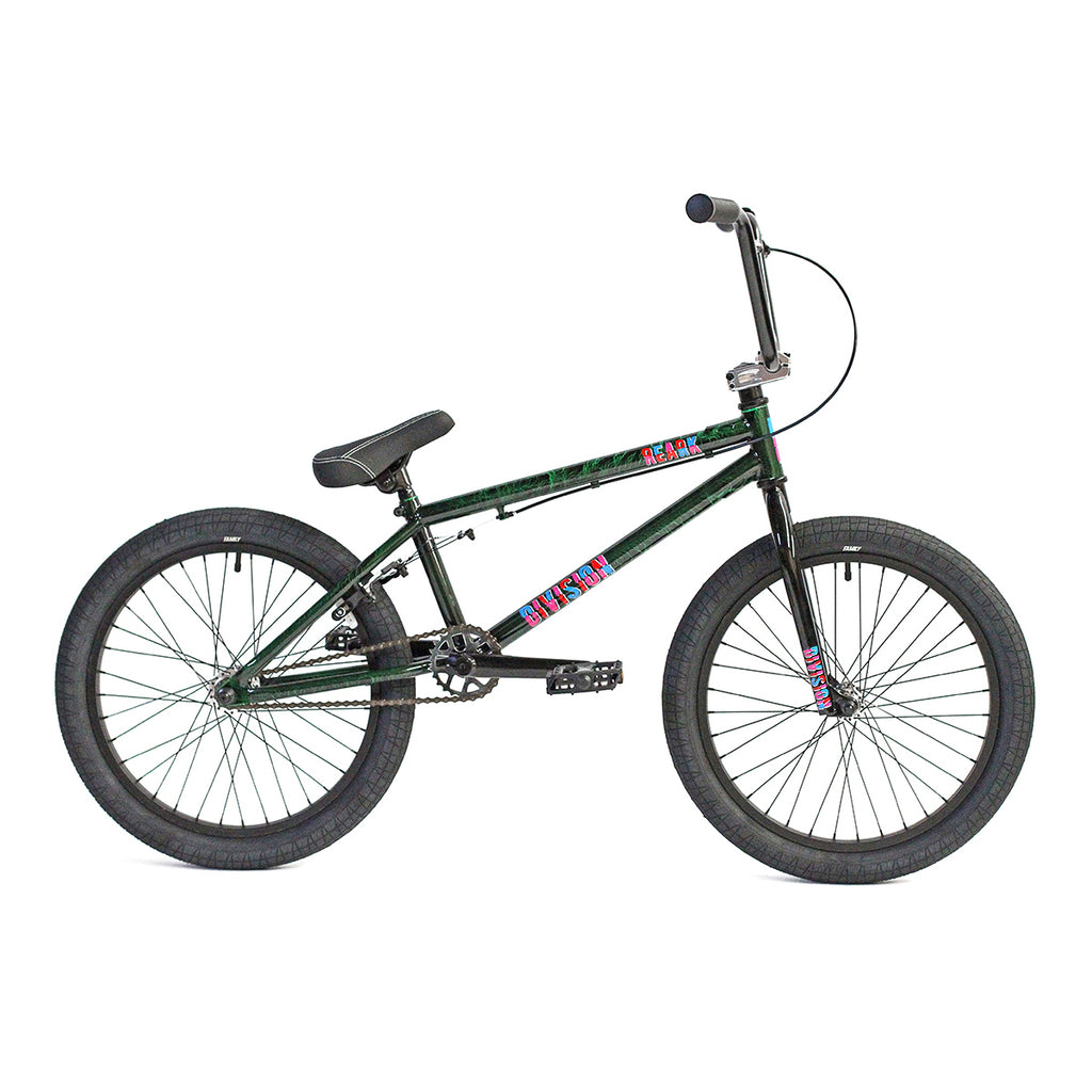 "Division Reark 20"" Complete BMX (Crackle Green)"