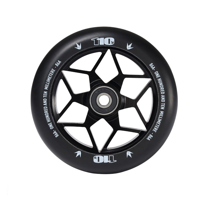 Envy 110mm Diamond Wheels (Black)