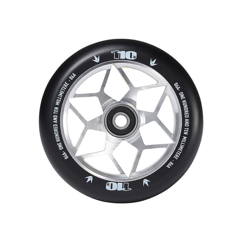 Envy 110mm Diamond Wheels (Silver)