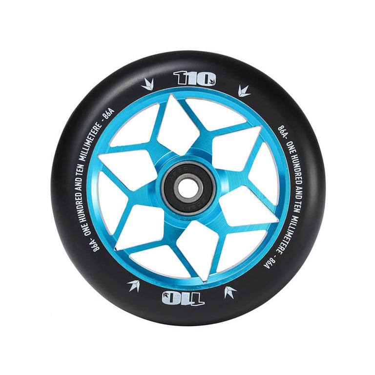 Envy 110mm Diamond Wheels (Teal)