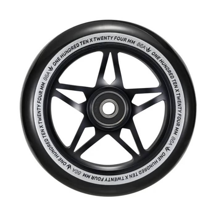 Envy 110mm S3 Wheels (Black/Black)