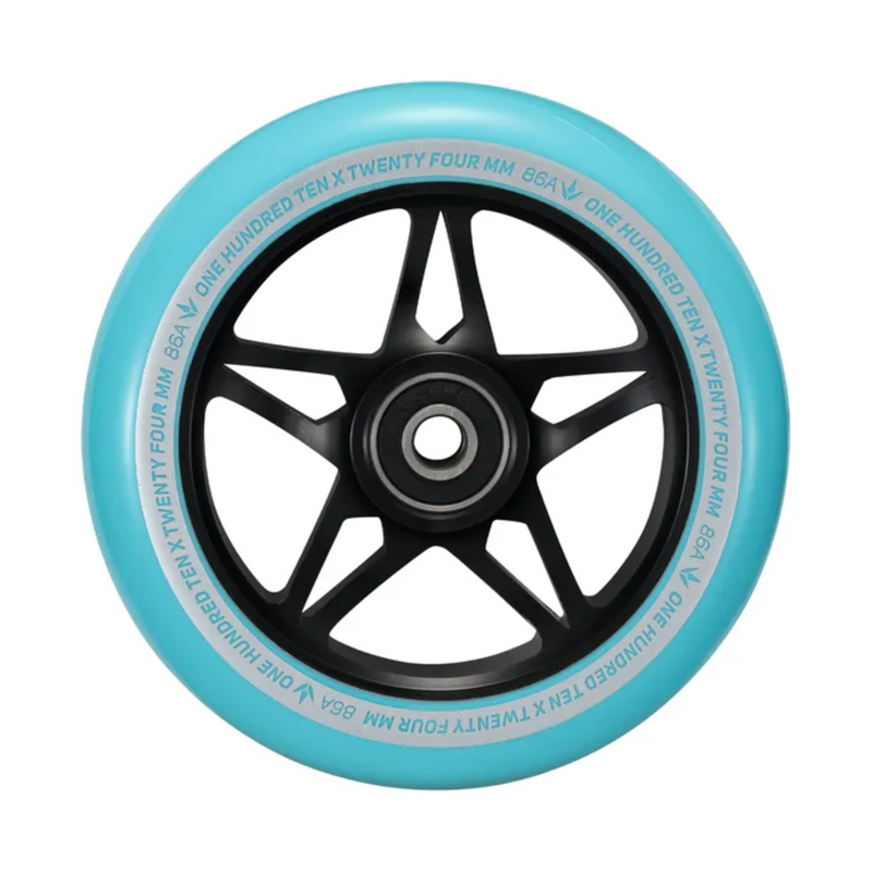 Envy 110mm S3 Wheels (Black/Blue)