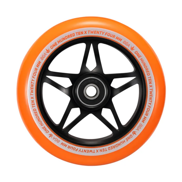Envy 110mm S3 Wheels (Black/Orange)