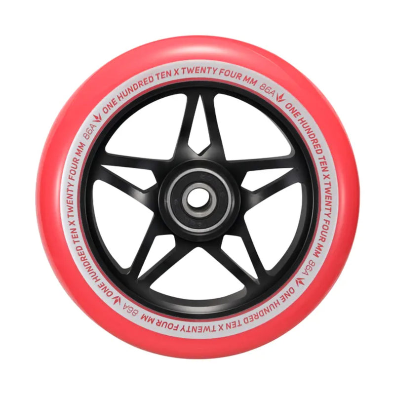 Envy 110mm S3 Wheels (Black/Red)