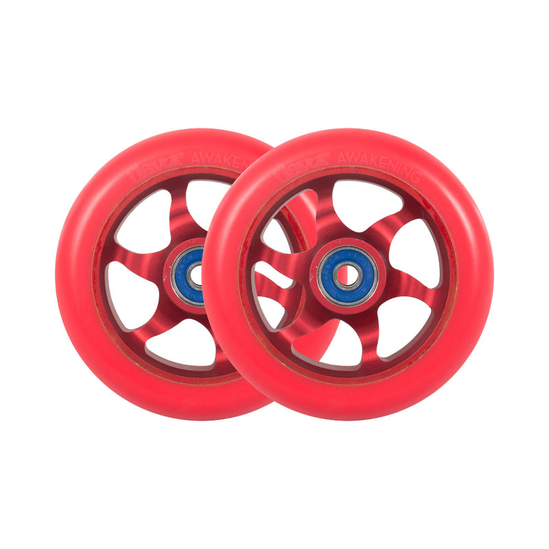 Flavor 110mm Awakening V2 Wheels (Red)