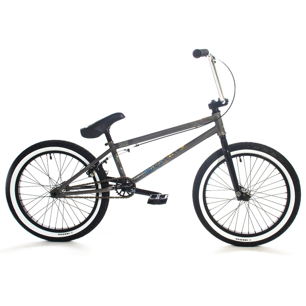 "Forgotten Hoax 20"" Complete BMX (Gloss Clear/Raw)"