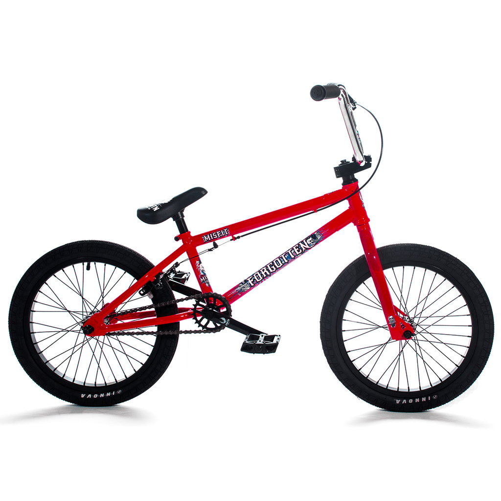 "Forgotten Misfit 18"" Complete BMX (Red)"