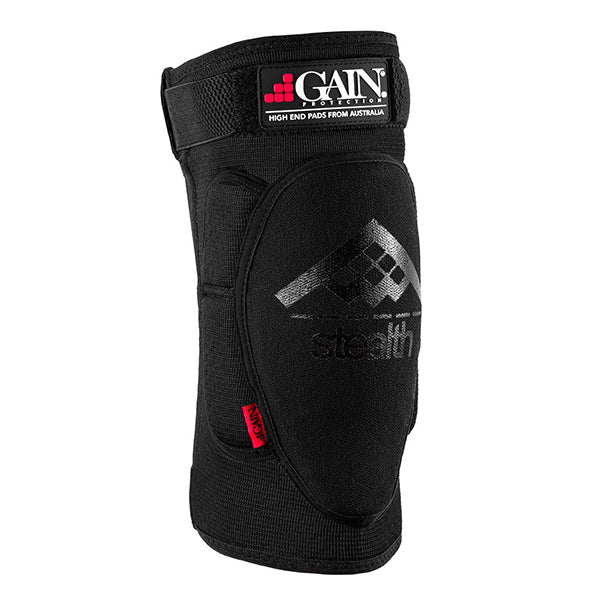 GAIN Protection Stealth Knee Pads (Black)