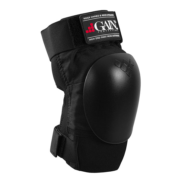 GAIN Protection The Shield Hard Shell Knee Pads (Black)