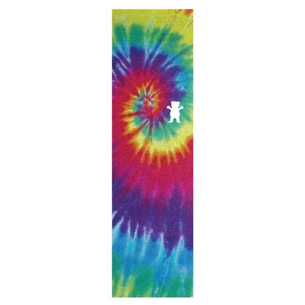 Grizzly Skateboard Griptape Sheet (Tie Dye Bear Cut Out)