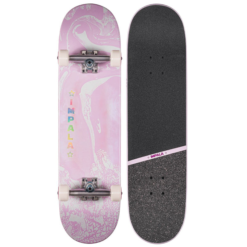 "Impala Cosmos Pink Complete Skateboard (8.25"")"