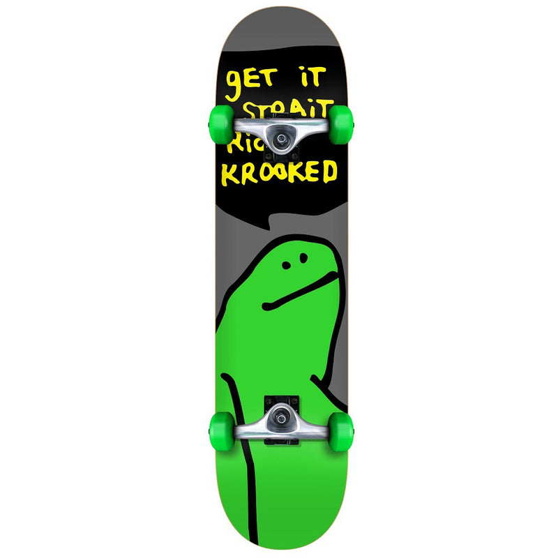 "Krooked Team Shmoo Complete Skateboard (7.38"")"
