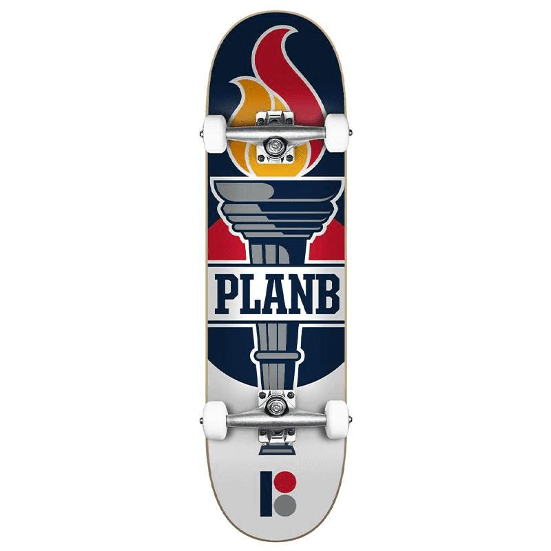 "Plan B Team Legend Complete Skateboard (8.0"")"