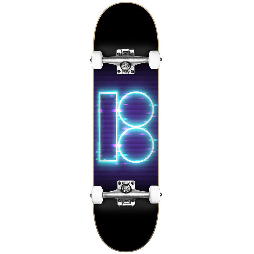 "Plan B Team Night Moves Complete Skateboard (8.25"")"
