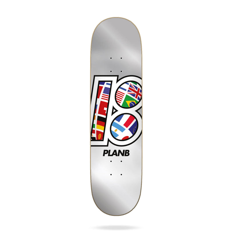 "Plan B Team Global Deck (8.5"")"