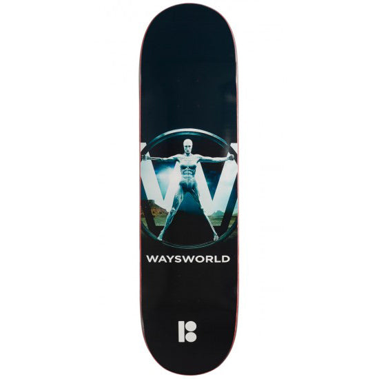 "Plan B Way Waysworld Deck (8.25"")"