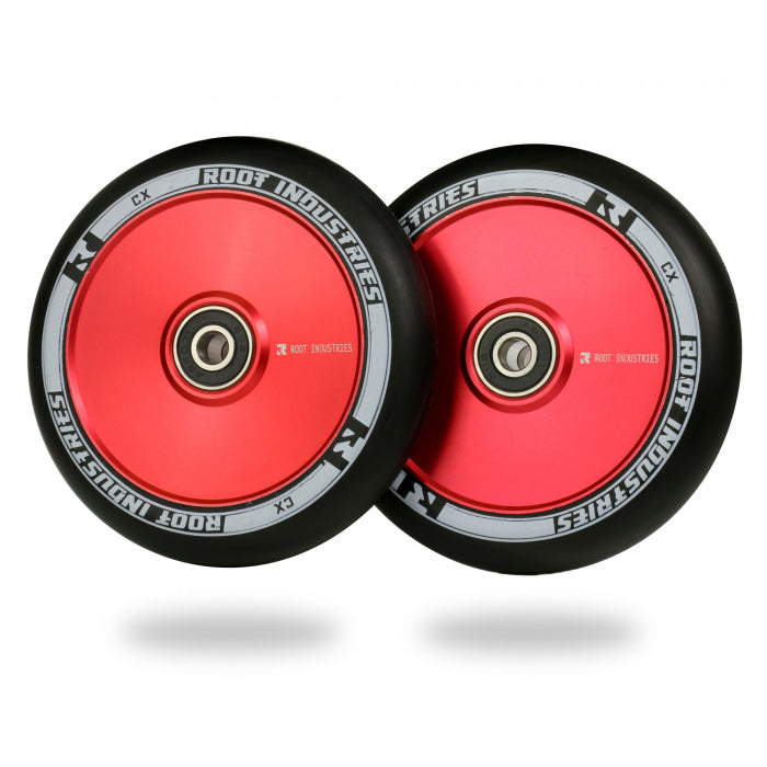 Root Industries 110mm AIR Wheels (Black/Red)
