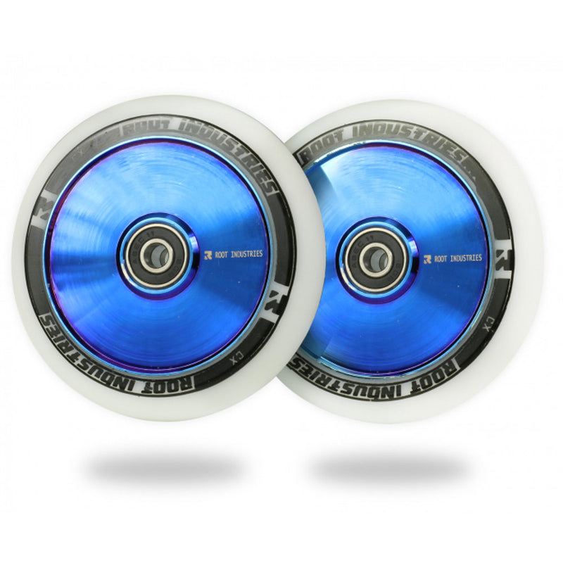 Root Industries 110mm AIR Wheels (White/Blu-Ray)