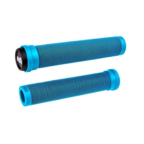ODI SLX 160mm Longneck Flangeless Soft Compound Grips (Light Blue)