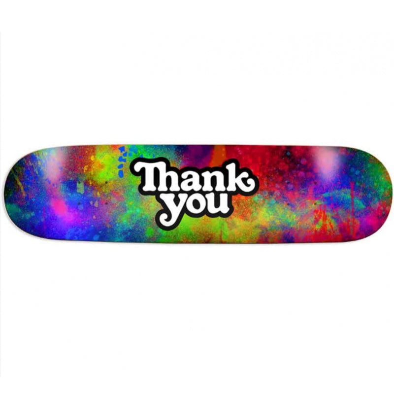 "Thank You Colour Burst Deck (8.125"")"