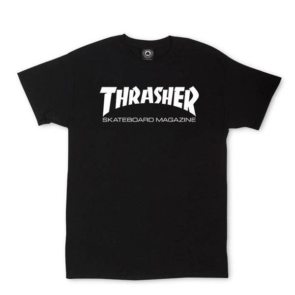 Thrasher Skateboarding Magazine Black T-Shirt