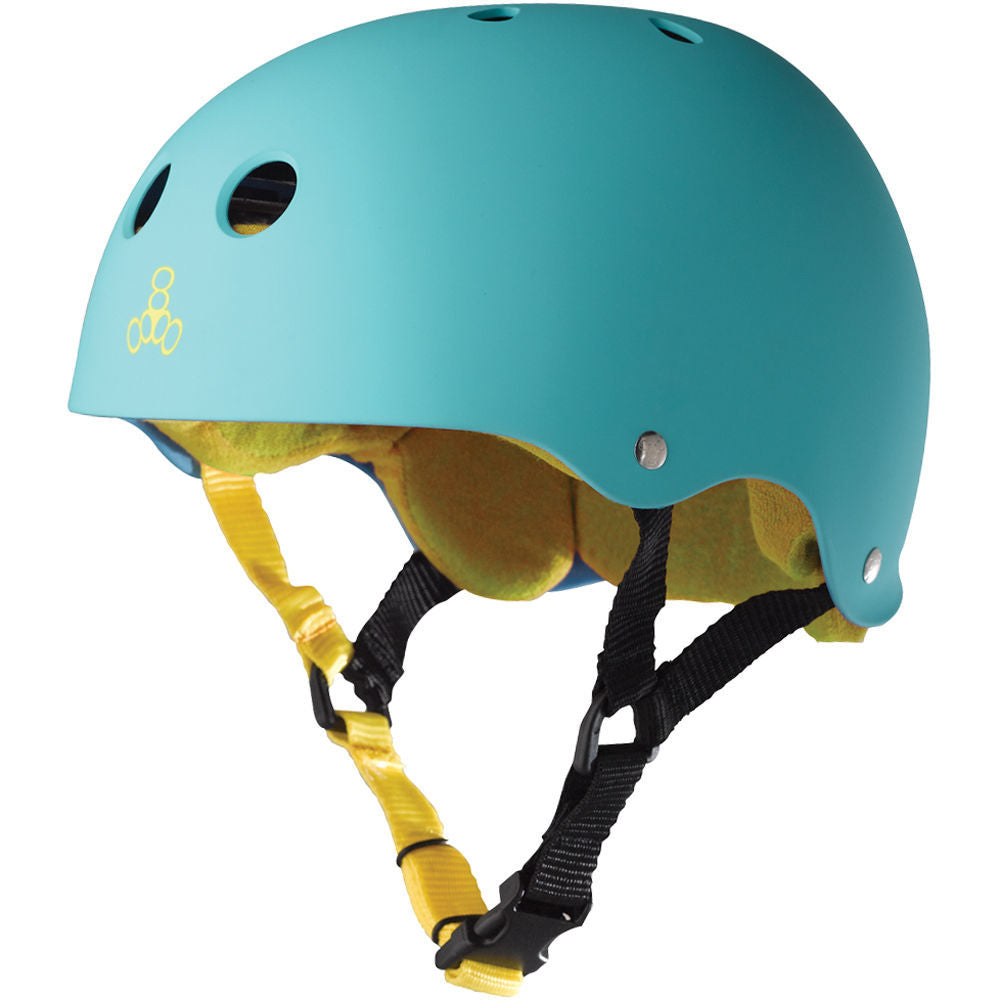 Triple 8 Brainsaver Sweatsaver Helmet (Baja Teal)