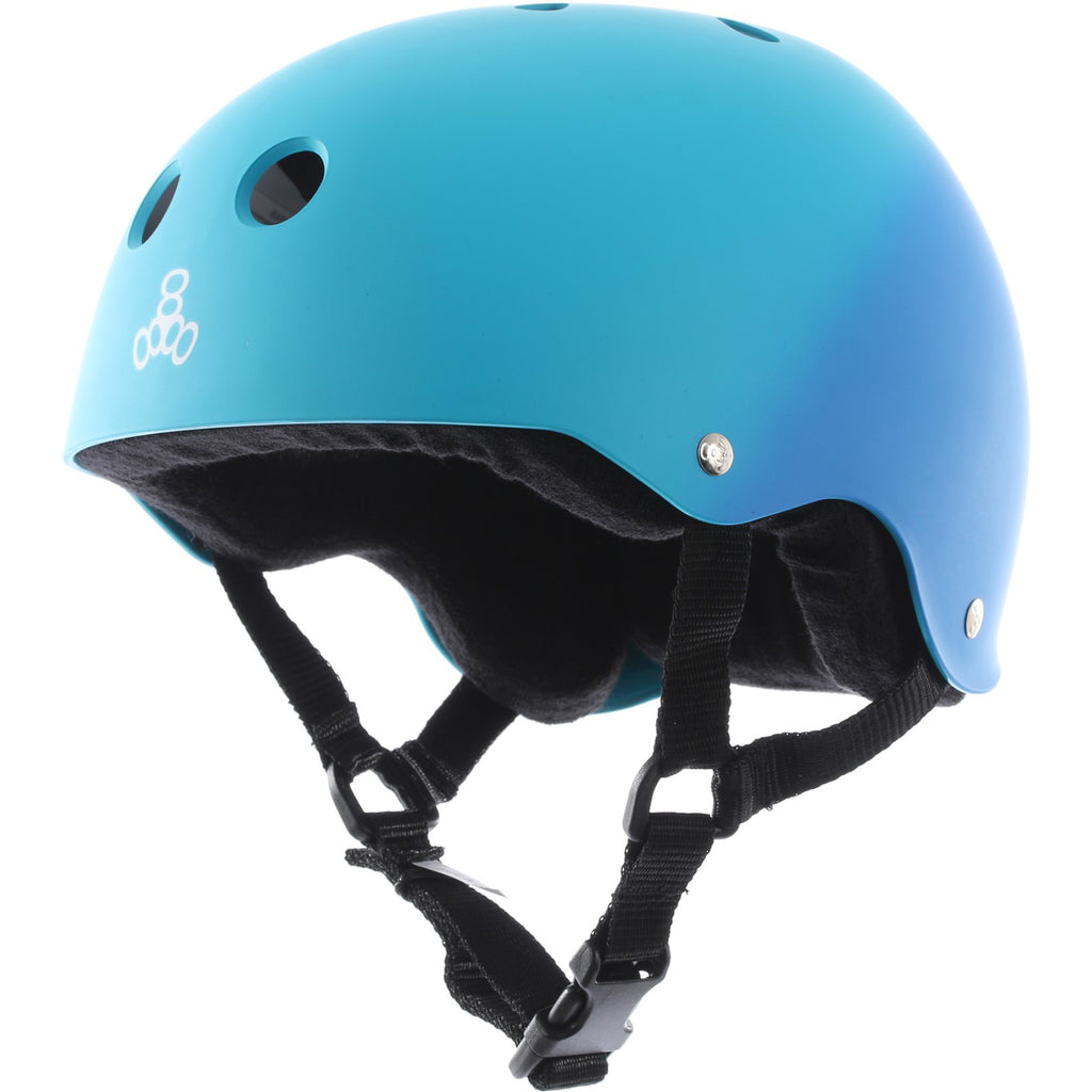 Triple 8 Brainsaver Sweatsaver Helmet (Blue Fade)