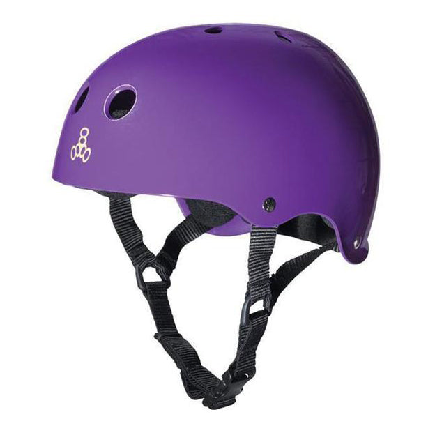 Triple 8 Brainsaver Sweatsaver Helmet (Purple)