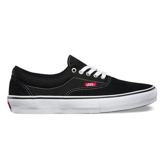 Vans Era Pro Shoes (Black and White)