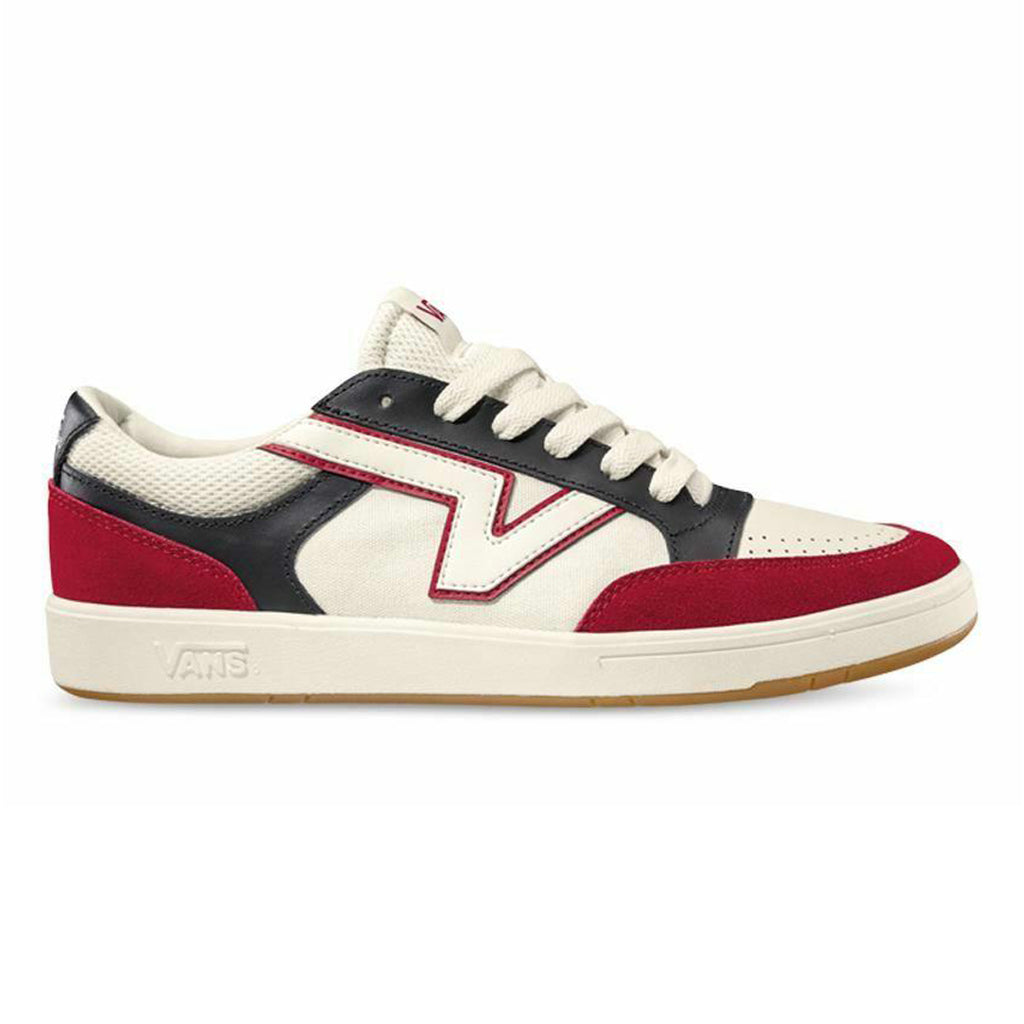Vans Lowland CC Shoes (Red and White)