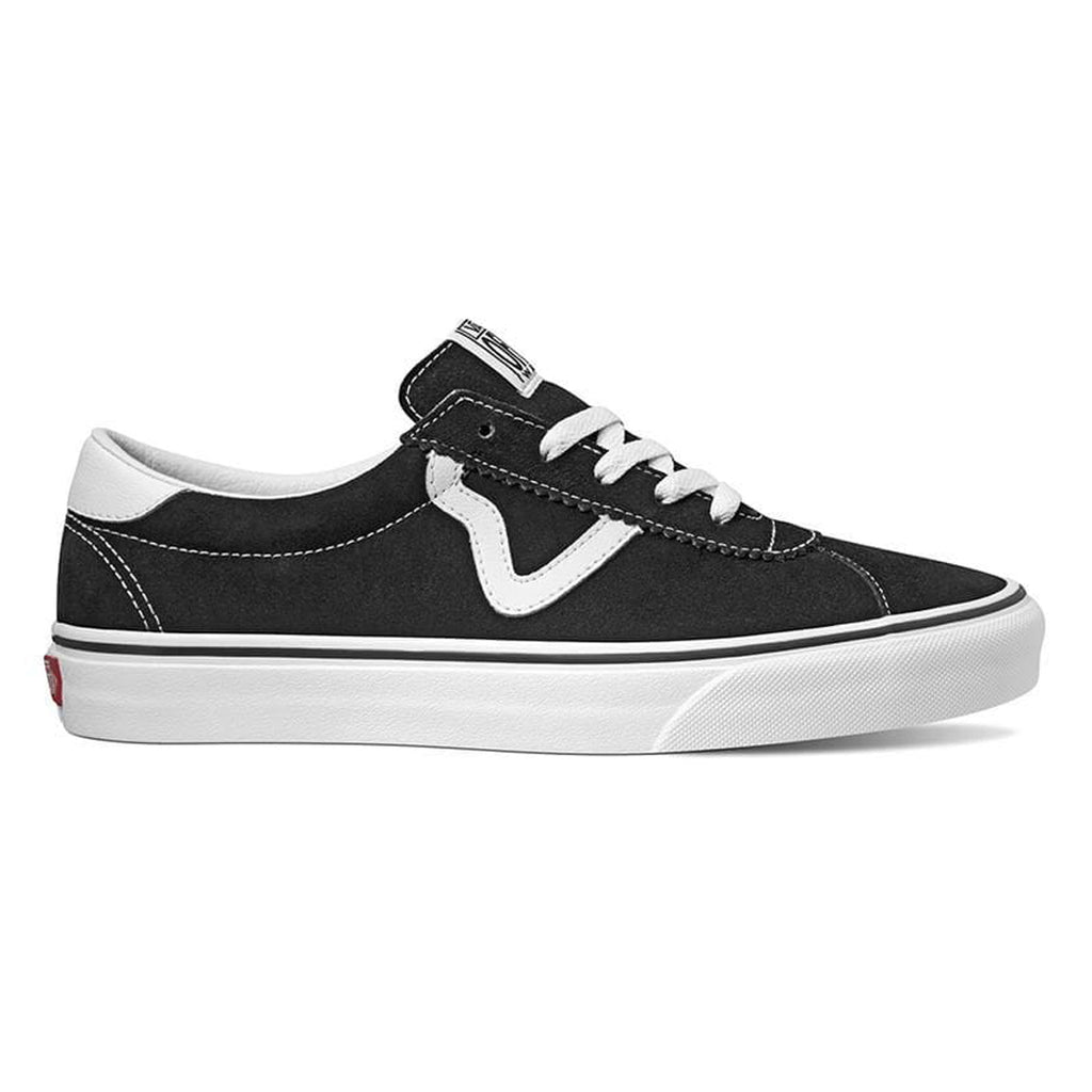 Vans Sport Shoes (Black Suede)