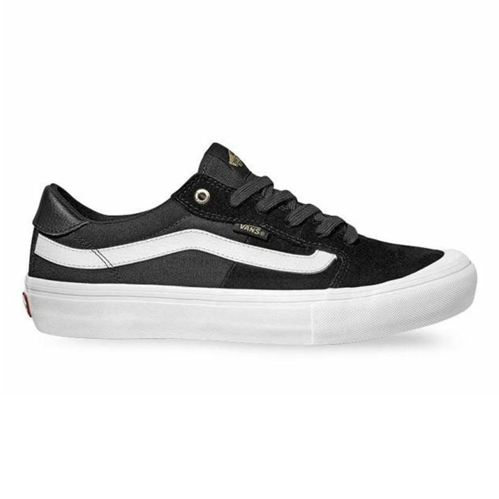 Vans Style 112 Pro Shoes (Black and White)
