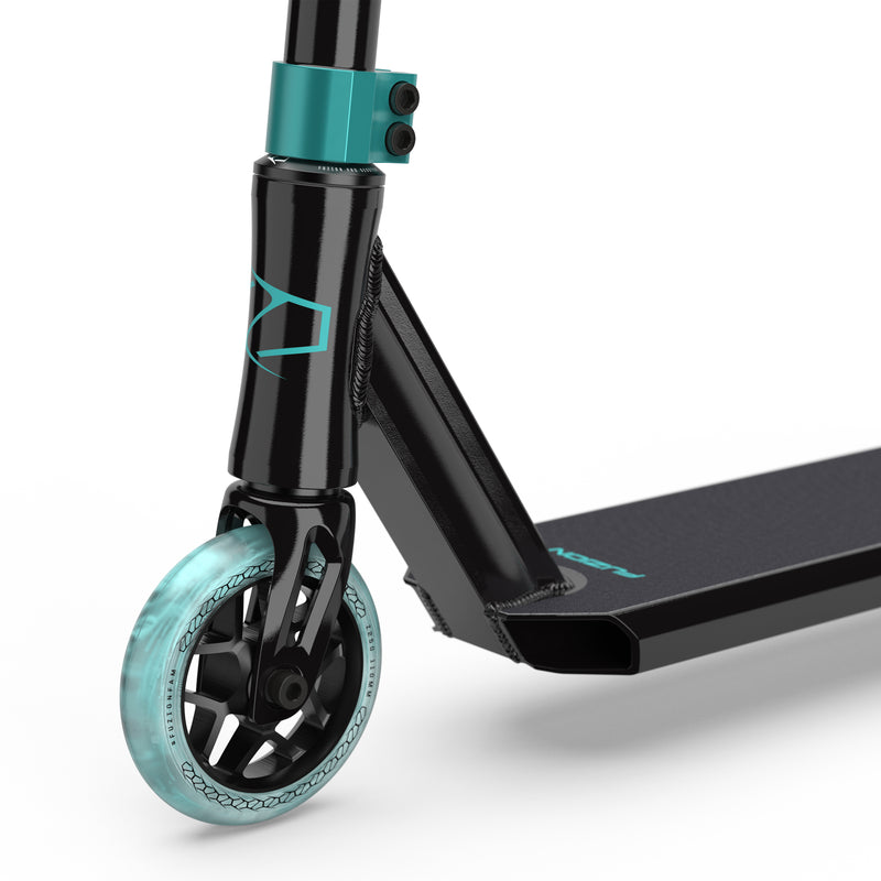 Fuzion Z250 Complete Scooter (Black/Teal – 2021)