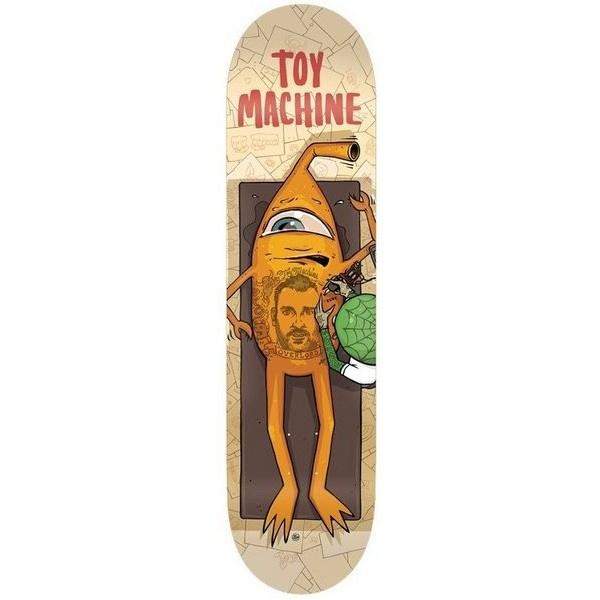 "Toy Machine Ed Templeton Overlord Deck (8.375"")"