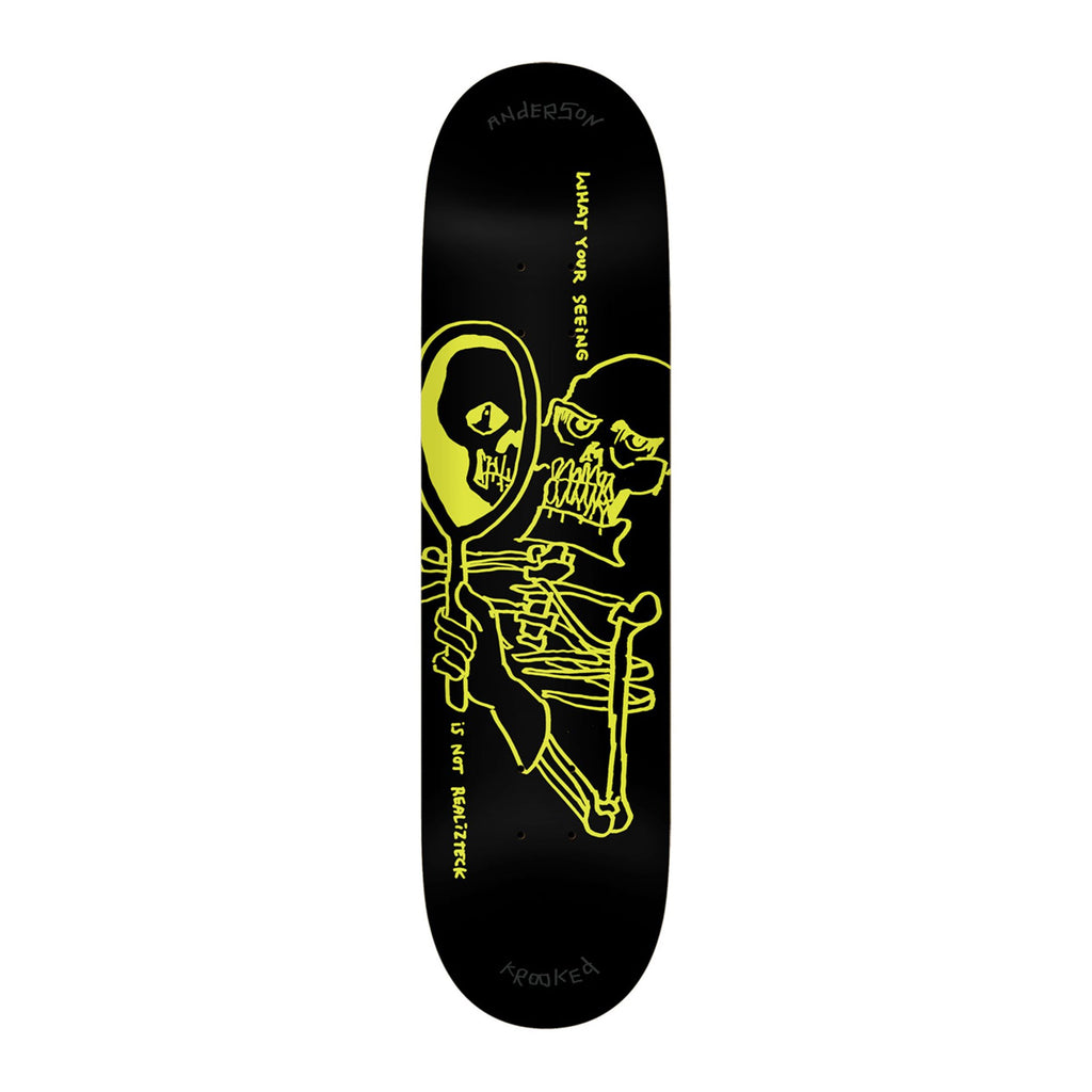 "Krooked Mike Anderson Realizteck Deck (8.38"")"