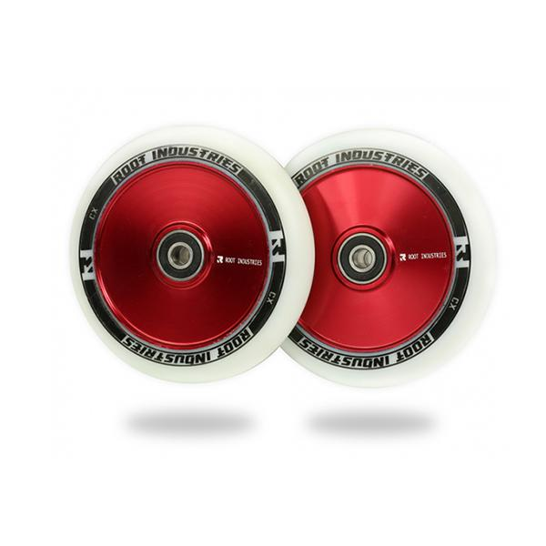 Root Industries 110mm AIR Wheels (White/Red)