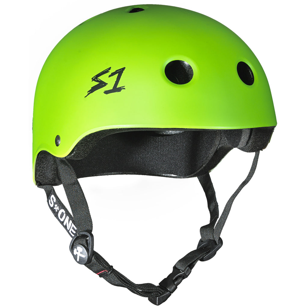 S1 Lifer Certified Helmet (Bright Matte Green)
