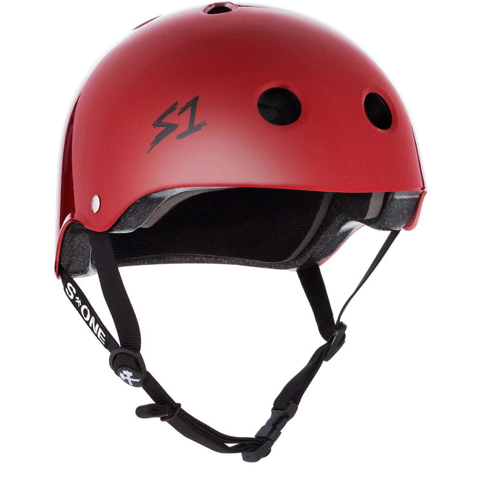 S1 Lifer Certified Helmet (Gloss Blood Red)