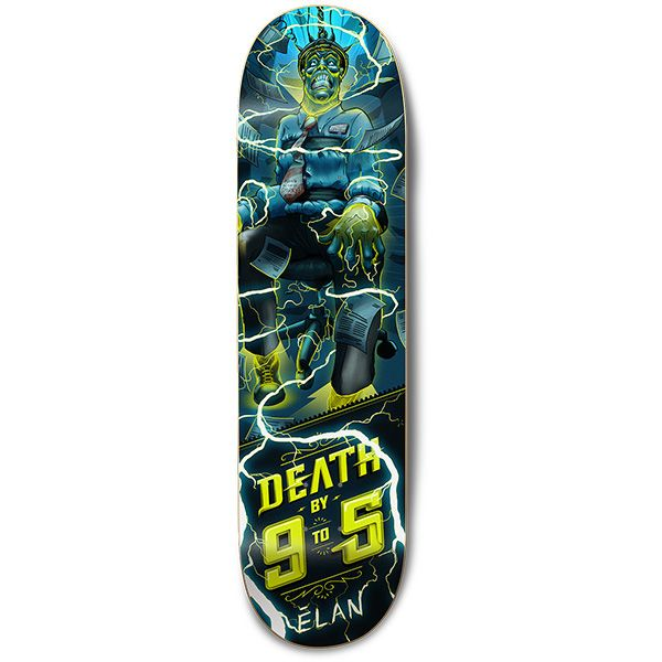 "Elan Nine To Five Deck (8.375"")"