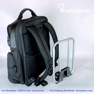 REVIEW | Brompton front carrier frame for backpack | Bromptonic