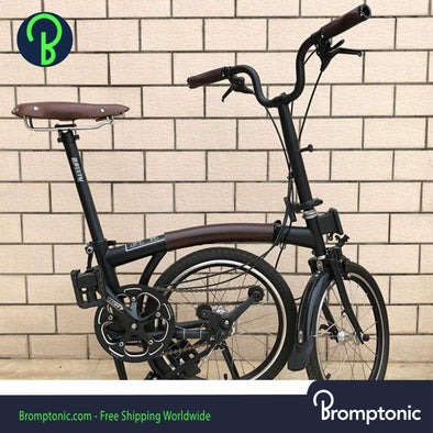 Leather frame protector Brompton
