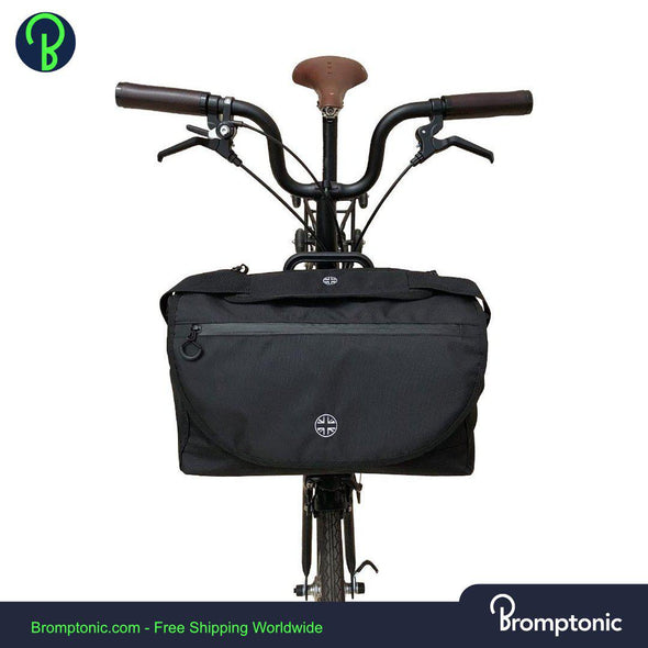 Brompton S Bag with British Flag  - Waterproof Pannier for Brompton