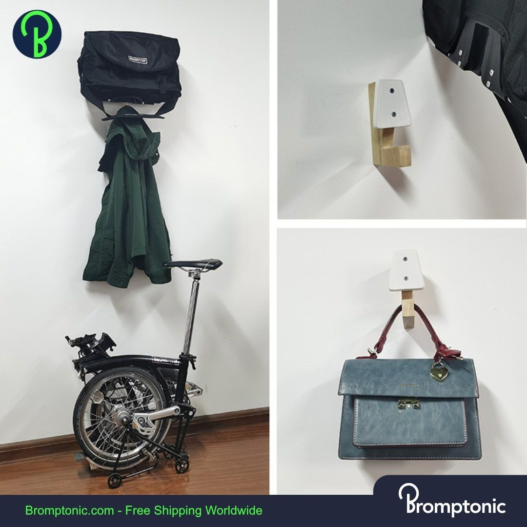 Brompton Aftermarket accessory hook for bag – Bromptonic