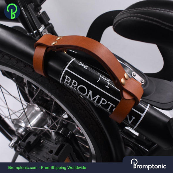 Brompton Leather Carry Handle - Bromptonic