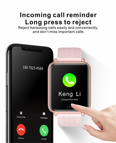 incoming call reminder with Pingko smart watch