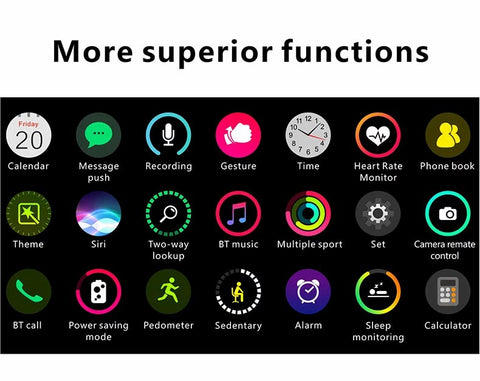 Pingko smart watch with multiple advanced functions